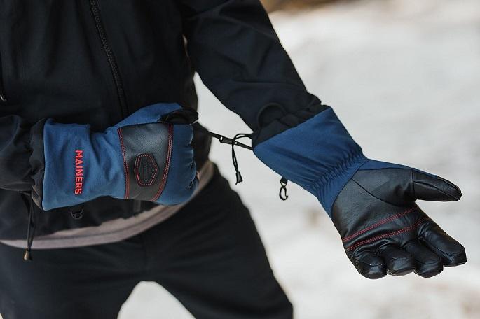 Snowboard gloves fit