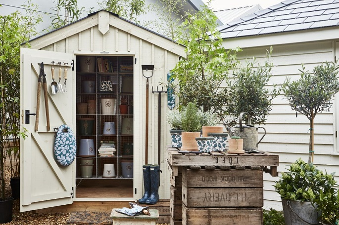 backyard shed for tools