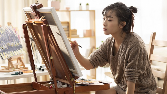 drawing easel