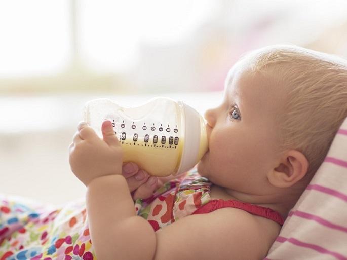 newborn milk bottle